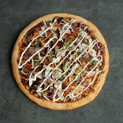Korean BBQ Pizza-min