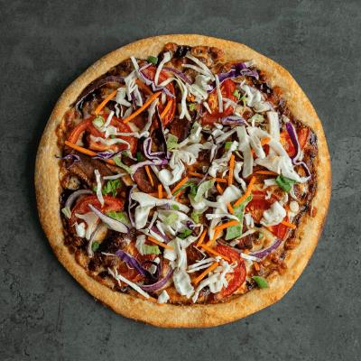 Mediterranean Lamb Pizza-min